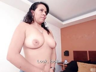 Delightful Interracial Group Sex With Sexy Latina Teen