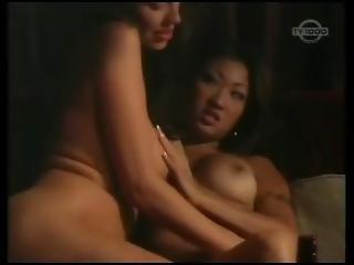 Rachel Elizabeth Fucks Nicole Oring On Shitty Couch