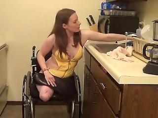 Dak Amputee Celeste Walking With Prosthetics