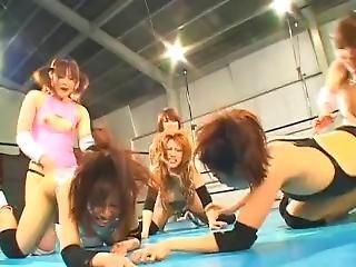 anal, katte kamp, fetish, japansk, wrestling