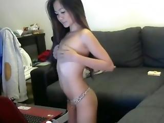 Cute Long Haired Asian Having Fun, Long Hair, Hair