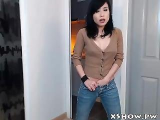 Amateur Asian Slut Masturbation