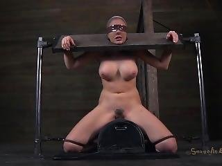 Chanel Preston Sybian Blowjob