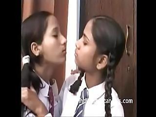 Real Indian Teen Lesbian Porn