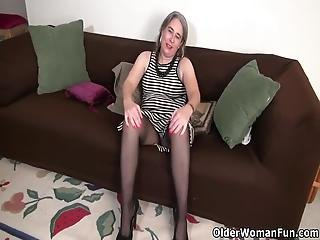 American Gilf Kelli And Her Hairy Pussy Are Always Ready To Have Some Naughty Fun Bonus Video: Usa Granny Ava