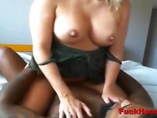 Busty Cheater Milf Enjoys Interracial Hookup Fuck
