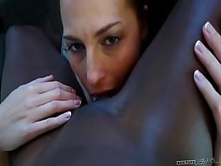 Interracial Lesbian Couple - Roxy Rox And Ana Foxxx