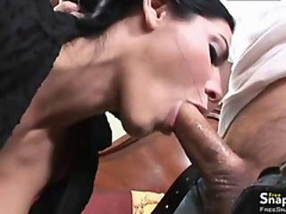 Dark Haired Milf Fucked And Faicalized