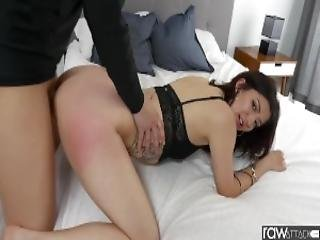 Rawattack Hot Petite Coralee Summers Is Pounded By A Monster Cock Small Tits Big Booty Interview Btf