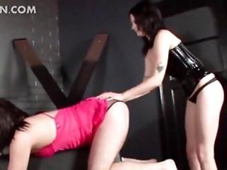 Bdsm Dominatrix Spanking Male Sex Slave