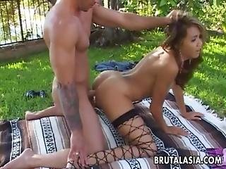 Seductive Big Ass Asian Bitch Has A Hot Fuck Doggy Style