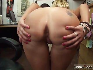 Brunette Big Tits Scream Orgasm And Girl Gets Fucked By Strap On Dildo