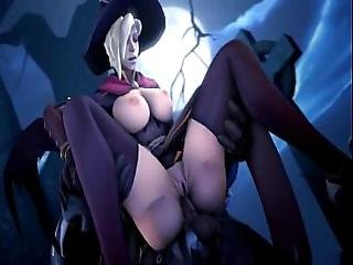 Mercy Overwatch Animation 3
