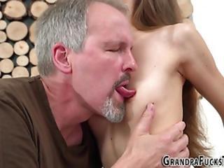 Teenager Fucking Grandpa