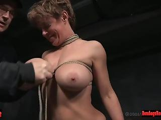 Bigtitted Submissive Milf Tortured Hard