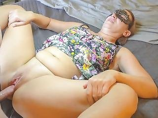 Milf In Long Dress Sucks Dick, Bends Over And Takes It