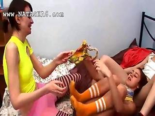 Three Belarusian 18yo Chicks Playing