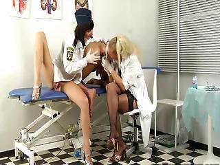 Russian Nurse Takes Semen Sample