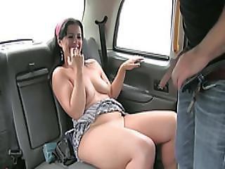 Damn Sexy Spanish Slut Enjoys Cock Sucking And Receives A Hot Cum