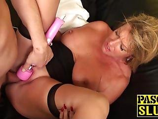 Smoking hot MILF Amy gets fucked hard