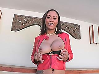 Big Tits Cherry Hilson Riding Big Cock Reverse Cowgirl