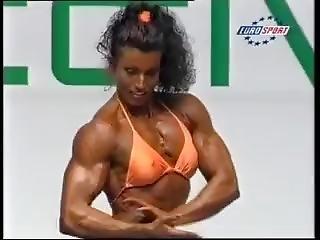 Sexy Austrian Fbb Posing