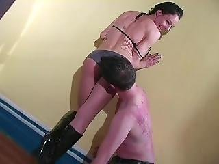 After Kick Your Ass You Are Going To Worship(mistress Trish)