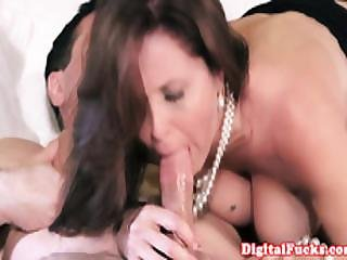Milf Julia Ann Drilled And Facialed