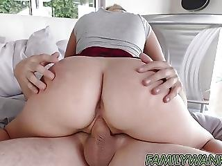 blond, blowjob, bror, sædshot, deepthroat, tissemand, handjob, slik