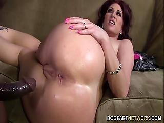 Tiffany Mynx Loves Anal With Big Black Cock
