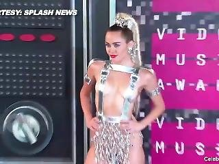 Miley Cyrus Frontal Nude And Naughty Video