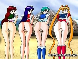 Famous Hentai Lesbian Orgies