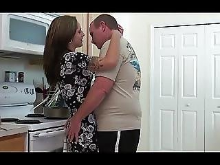 Fucked Teen In The Kitchen By Old Man
