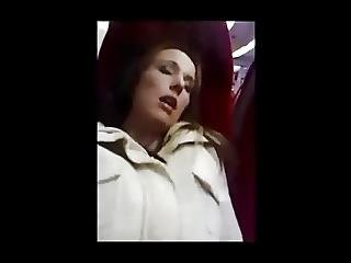 Fingered And Blow Job On Train