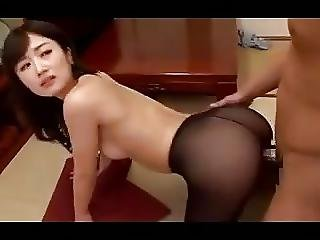 Japanese Passionate Pantyhose Sex