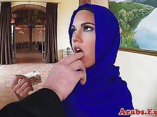 Amadores, árabe, Linda, Dinheiro, Facial, Foder, Esguia