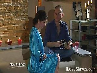 Lovely Babe Must Experiences Pain In Order To Show Her Love To Demanding Master