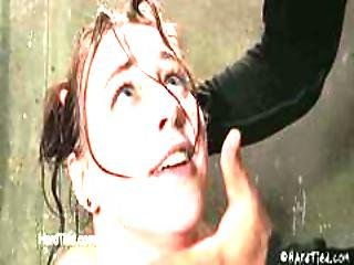 18 Year Old Madison Leigh Gets Examined For Slave Training