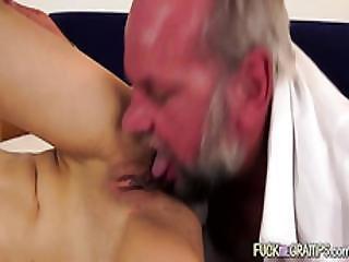 Playful Grandpa Fucking Teenager