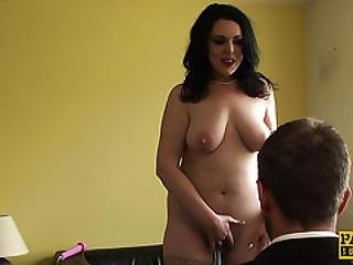 Busty Sub Humiliated And Fingerfucked