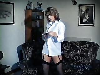 Stay Or Go Vintage Teen Schoolgirl Striptease Stockings
