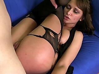 anal, grosser schwanz, blasen, brutal, doggystyle, ficken, höschen, strumpfhose, ruppig, sex, sofa sex