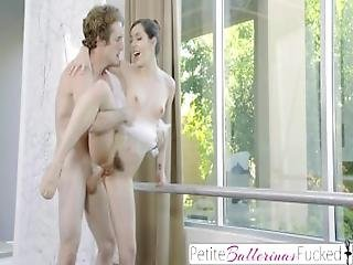Dance Teachers Intimate Seduction With Beautiful Spinner