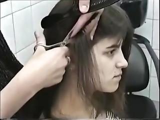 Long Hair Cut Short