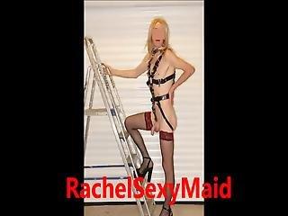 blondine, zusammenfassung, ficken, maschinenficken, dienstmädchen, model, sexy, transe