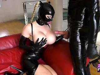 Latex Lucy Blowjob Anal Fuck