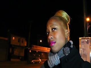 Hood Chick Picked Up And Fucked