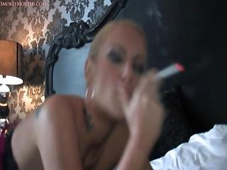 Emma Louise Smoking