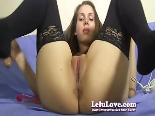 Amateur, Closeup, Dildo, Home, Homemade, Masturbation, Pussy, Solo, Stocking, Vibrator