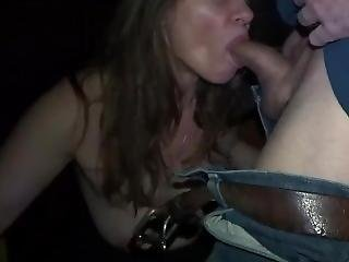 Tammie - Porn Theater Big Cock Stranger Blowjob And Cum Swallow